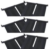 vidaXL Solárny panel na ohrev vody v bazéne 6 ks 80x310 cm