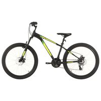 """vidaXL Horský bicykel 21 rýchlostí 27,5"""" koleso 42 cm rám čierny"""