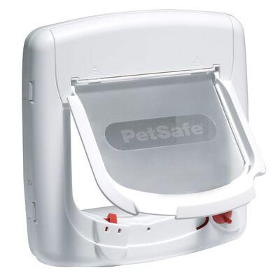 PetSafe Magnetická 4-smerná klapka pre mačky Deluxe 400 biela 5005