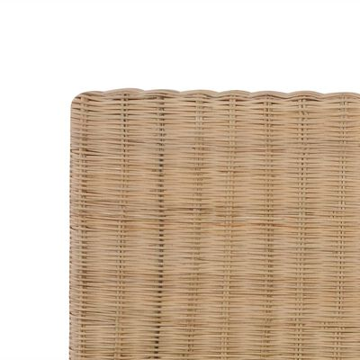 vidaXL Ručne pletený posteľný rám, pravý ratan 160x200 cm