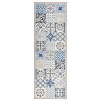 vidaXL Kuchynská rohožka prateľná 45x150 cm mozaika