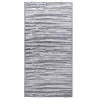 vidaXL Vonkajší koberec sivý 80x150 cm PP