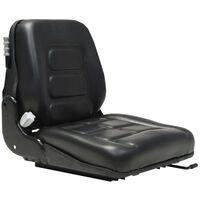 vidaXL Sedadlo na vysokozdvižný vozík odpruženie nastaviteľné operadlo