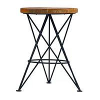 LABEL51 Stolička Paris 35x52cm čierna