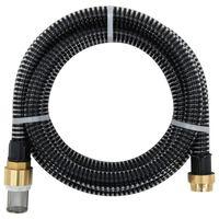 vidaXL Sacia hadica s mosadznými spojkami 10 m 25 mm čierna