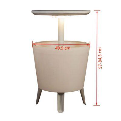 Keter Osvetlený chladiaci bar, biely 232924