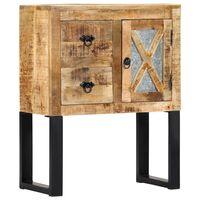 vidaXL Komoda 60x30x76 cm masívne mangovníkové drevo