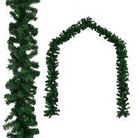 vidaXL Vianočná girlanda z PVC, 20 m