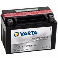 Varta Batéria do motocyklov Powersports AGM YTX9-4 / YTX9-BS