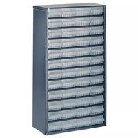Raaco skrinka 1248-01 so 48 zásuvkami 137393