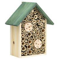 vidaXL Hotely pre hmyz 2 ks 23x14x29 cm masívne jedľové drevo