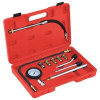 vidaXL 12-dielný nástroj na meranie kompresie benzínových motorov
