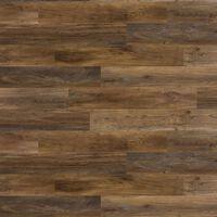 WallArt Drevené lišty zostarnuté dubové drevo tmavohnedé