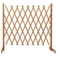vidaXL Záhradný mriežkový plot oranžový 180x100 cm masívne jedľové drevo
