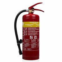 Smartwares Penový hasiaci prístroj 3 l, trieda AB, oceľ FEX-15230