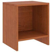 vidaXL Nočný stolík medovohnedý 35x30x40 cm borovicový masív