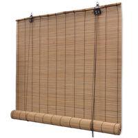vidaXL Roleta, bambus 150x160 cm, hnedá