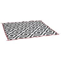 Bo-Camp Vonkajší koberec Chill mat Picnic čierno-biely 2x1,8 m