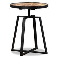 vidaXL Príručný stolík, recyklované teakové masívne drevo