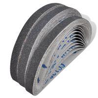 Brúsne pásy na pneumatickú pásovú brúsku 30 ks, 10 x zrnitosť 60, 10 x zrnitosť 80, 10 x zrnitosť 120, 10 mm x 330 mm