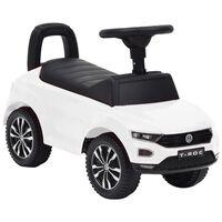vidaXL Odrážacie auto Volkswagen T-Roc biele