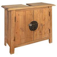vidaXL Kúpeľňová skrinka, recyklované borovicové drevo, 70x32x63 cm