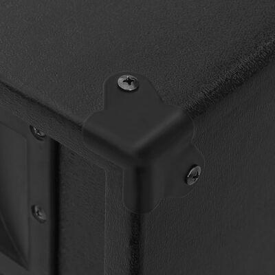 vidaXL Profesionálny pasívny hifi reproduktor 1000 W čierne