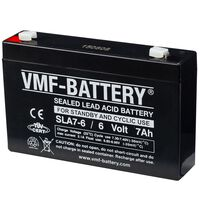 VMF AGM Záložná a cyklická batéria 6 V 7 Ah SLA7-6