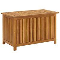 vidaXL Záhradný úložný box 90x50x106 cm, akáciový masív