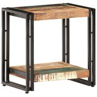 vidaXL Príručný stolík 40x30x40 cm recyklovaný masív