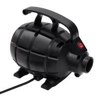 vidaXL Elektrická vzduchová pumpa čierna