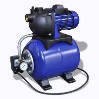 Záhradné elektrické čerpadlo 1200 W modré