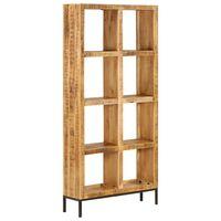vidaXL Knižnica 80x25x175 cm masívne mangovníkové drevo