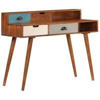 vidaXL Písací stôl 110x50x90 cm masívne akáciové drevo