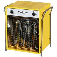 Master Elektrický ohrievač s ventilátorom B22EPB, 2400 m³/h