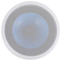vidaXL Vstavaný nástenný a stropný reproduktor s tweeterom 180 W
