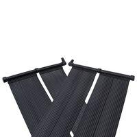 vidaXL Solárne panely na ohrev vody v bazéne 4 ks 80x310 cm