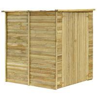 vidaXL Záhradný domček / kôlňa 157x159x178 cm impregnovaná borovica