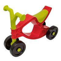 BIG Detské odrážadlo, motorka Flippi, červeno zelená
