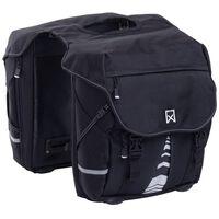 Willex Bicyklové tašky XL 1200 čierne 50 l 13611