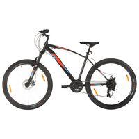 """vidaXL Horský bicykel 21 rýchlostí 29"""" koleso 48 cm rám čierny"""