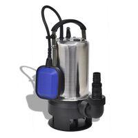 vidaXL Čerpadlo na znečistenú vodu, 750 W, 12500 l/hod