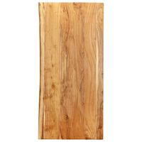 vidaXL Doska na kúpeľňovú skrinku masívne akáciové drevo 120x55x2,5 cm