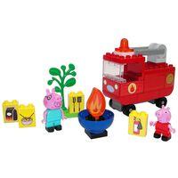BIG 40-dielna hracia sada Bloxx Peppa Pig s hasičským autom