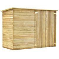 vidaXL Záhradná kôlňa na náradie 232x110x170 cm impregnované borovicové drevo