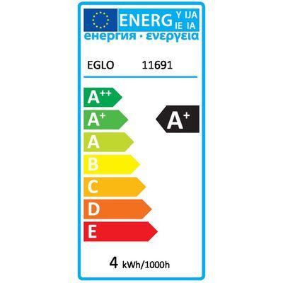 EGLO Stmievateľná LED žiarovka Golden Age 4 W 7,5 cm 11691