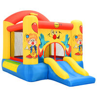 Happy Hop Nafukovací hrad so šmýkačkou 330x230x230 cm PVC