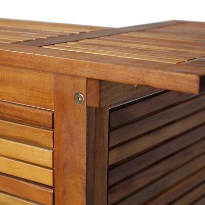 vidaXL Barový stôl 110x50x105 cm, akáciový masív