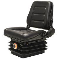 vidaXL Sedadlo na vysokozdvižný vozík & traktor s odpružením a nastaviteľným operadlom
