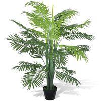 Umelá palma v črepníku, 130 cm